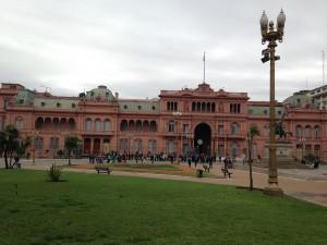 Regierungsgebäude in Buenos Aires