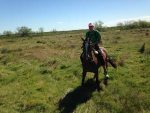 Me gusta: montar a caballo